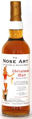 christmas malt 2015 nose art by whisky doris sherry butt 116 cask strength 45 8 genie en sie. Black Bedroom Furniture Sets. Home Design Ideas