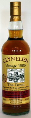 Clynelish 12 Jahre The Dram Whisky-Doris Sherry Butt