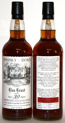 Glen Grant 39 Jahre Whisky-Doris dark Sherry Hogshead